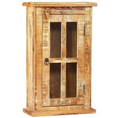 vidaXL Nástěnná skříňka masivní recyklované dřevo 44 x 21 x 72 cm[8/11]