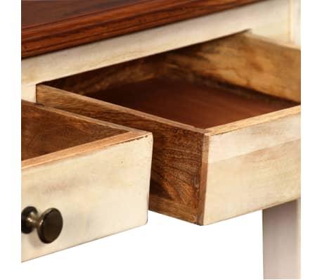 vidaxl konsolentisch massives sheesham mango holz 120 x 30 x 76 cm g nstig kaufen. Black Bedroom Furniture Sets. Home Design Ideas