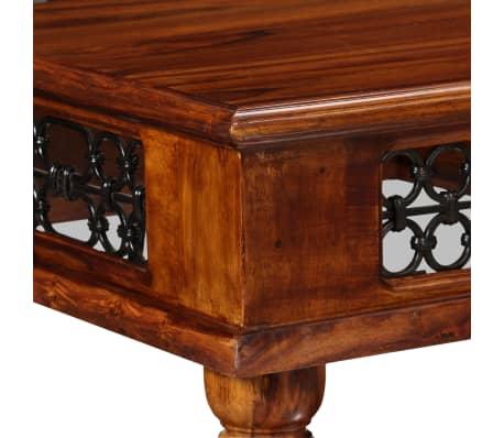 vidaXL Writing Table Solid Sheesham Wood 120x50x76 cm[7/13]