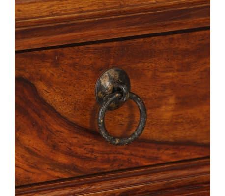 vidaXL Writing Table Solid Sheesham Wood 120x50x76 cm[8/13]