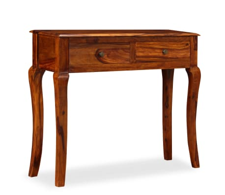 vidaXL Table console Bois massif de Sesham 90 x 32 x 76 cm[11/13]