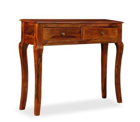 vidaXL Table console Bois massif de Sesham 90 x 32 x 76 cm[13/13]