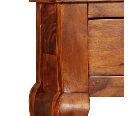 vidaXL Table console Bois massif de Sesham 90 x 32 x 76 cm[7/13]