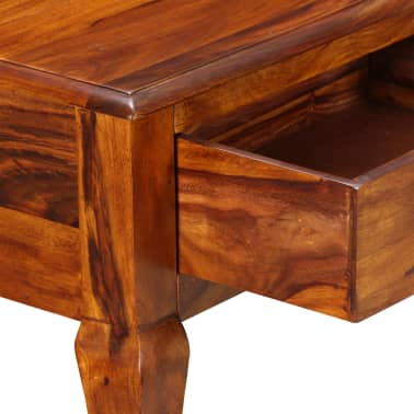 vidaXL Table console Bois massif de Sesham 90 x 32 x 76 cm[6/13]
