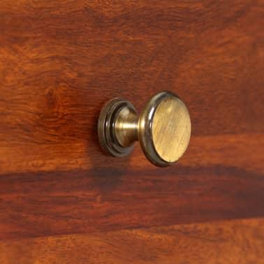 vidaXL Table console Bois massif de Sesham 90 x 32 x 76 cm[8/13]