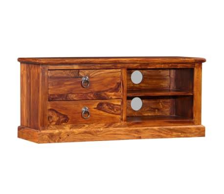 vidaXL Mueble para TV de madera maciza de sheesham 90x30x40 cm