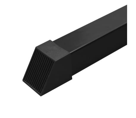 vidaXL Centre d'entraînement à câbles 315 cm Noir[9/10]