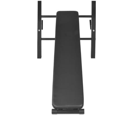 vidaXL Turn Fitness multifuncțional de perete, negru[7/8]