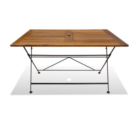acheter vidaxl ensemble de salle manger d 39 ext rieur 7. Black Bedroom Furniture Sets. Home Design Ideas