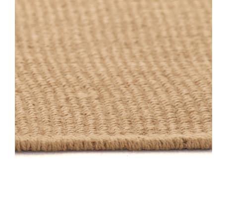 acheter vidaxl tapis en jute avec support en latex 120 x 180 cm naturel pas cher. Black Bedroom Furniture Sets. Home Design Ideas