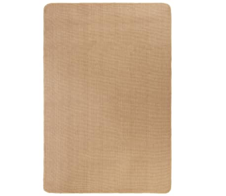 acheter vidaxl tapis en jute avec support en latex 160 x 230 cm naturel pas cher. Black Bedroom Furniture Sets. Home Design Ideas