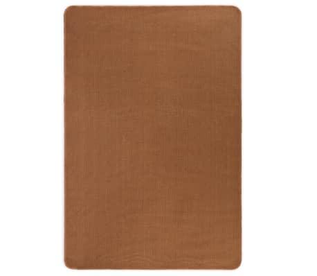 vidaXL Dywan z juty z podkładem z lateksu, 70 x 130 cm, brązowy[1/4]