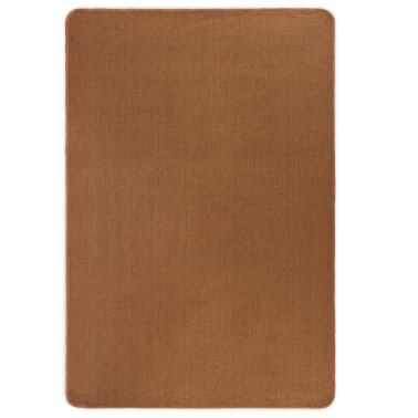vidaXL Jutematta med latexundersida 140x200 cm brun[1/4]