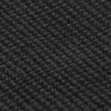 vidaXL Tapis en jute avec support en latex 80 x 160 cm Gris[2/4]