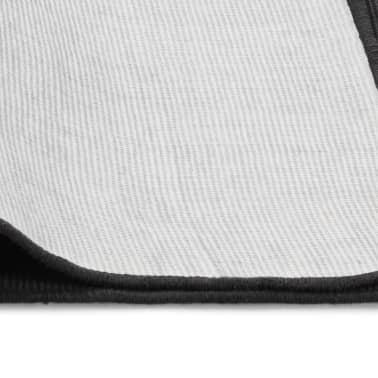 vidaXL Dywan z juty z podkładem z lateksu, 80 x 160 cm, szary[4/4]