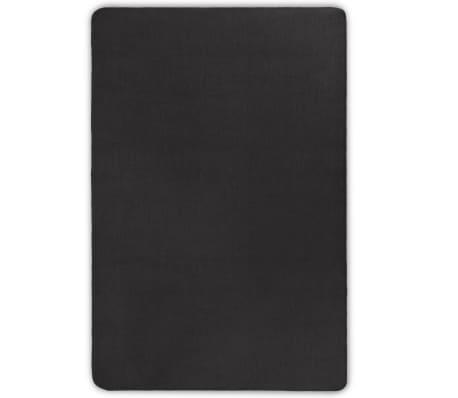 vidaXL Tapijt met latex onderkant 160x230 cm jute grijs