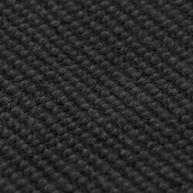 vidaXL Dywan z juty z podkładem z lateksu, 160 x 230 cm, szary[2/4]