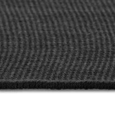 vidaXL Dywan z juty z podkładem z lateksu, 160 x 230 cm, szary[3/4]