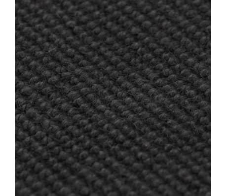 vidaXL Dywan z juty z podkładem z lateksu, 190 x 240 cm, szary[2/4]