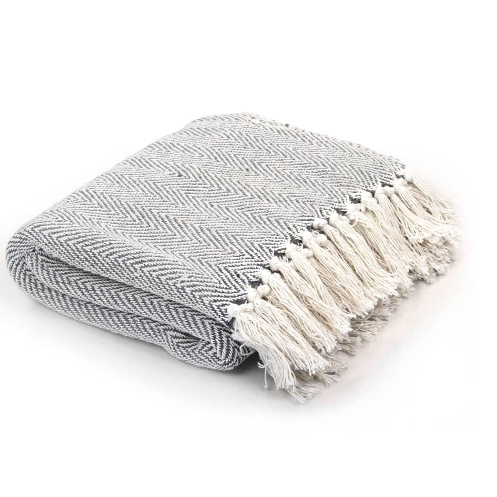 Drapeer het deken over een stoel, bankleuning of bed en het draagt direct bij aan de ontspannende sfeer in je interieur.
