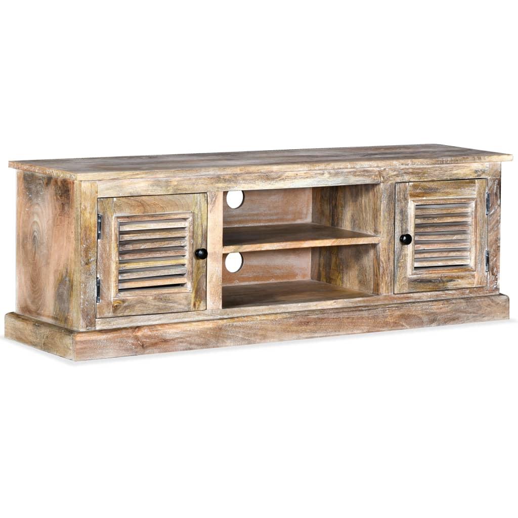 vidaXL TV stolek z masivního mangovníkového dřeva