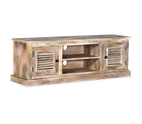 vidaXL Mueble para la TV de madera maciza de mango