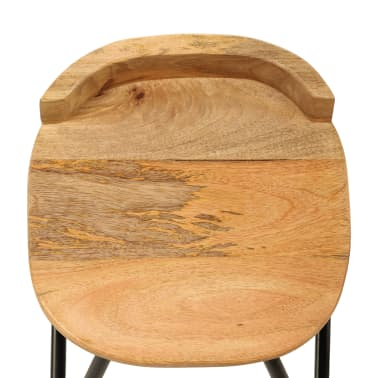 vidaXL Baro baldų komplektas, 3d., mango medienos masyvas[12/23]