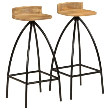 vidaXL Baro baldų komplektas, 3d., mango medienos masyvas[8/23]