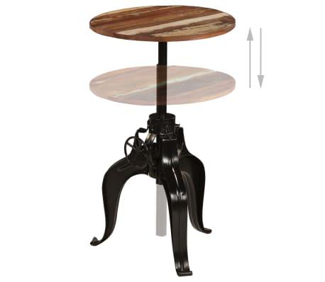 vidaXL Conjunto de muebles de bar 3 piezas madera maciza reciclada[4/24]