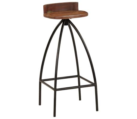 vidaXL Conjunto de muebles de bar 3 piezas madera maciza reciclada[8/24]