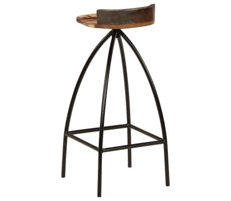 vidaXL Conjunto de muebles de bar 3 piezas madera maciza reciclada[9/24]