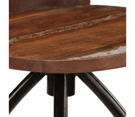 vidaXL Conjunto de muebles de bar 3 piezas madera maciza reciclada[10/24]