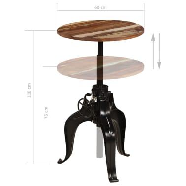 vidaXL Conjunto de muebles de bar 3 piezas madera maciza reciclada[12/24]