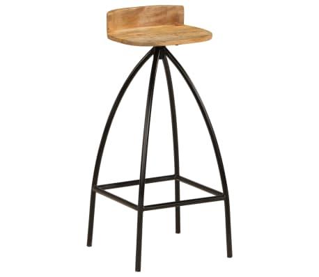 vidaXL Baro baldų komplektas, 5d., mango medienos masyvas[11/25]