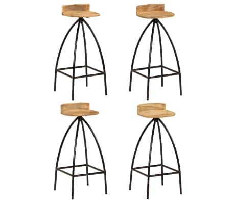 vidaXL Baro baldų komplektas, 5d., mango medienos masyvas[10/25]