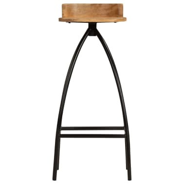 vidaXL Baro baldų komplektas, 5d., mango medienos masyvas[12/25]