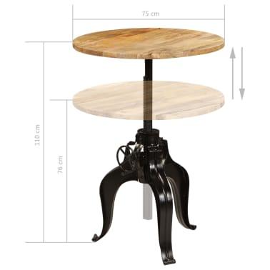 vidaXL Baro baldų komplektas, 5d., mango medienos masyvas[15/25]