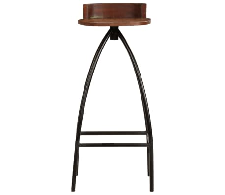 vidaXL 5-dijelni barski set od masivnog obnovljenog drva[11/27]