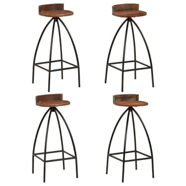 vidaXL 5-dijelni barski set od masivnog obnovljenog drva[10/27]
