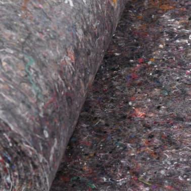 vidaXL Fieltro antideslizante de pintor 50 m 180 g/m² gris 2 unidades[5/6]
