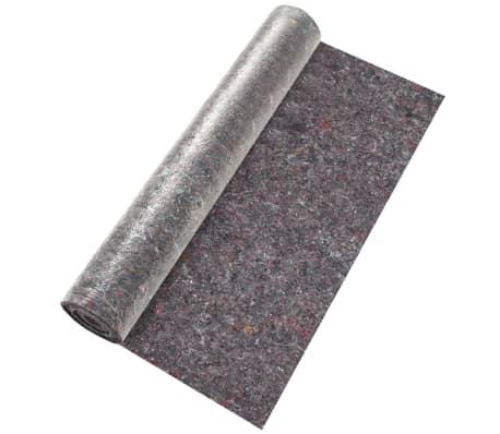 vidaXL Fieltro antideslizante de pintor 50 m 180 g/m² gris 3 unidades[3/6]