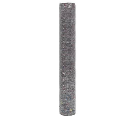vidaXL Fieltro antideslizante de pintor 50 m 180 g/m² gris 3 unidades[4/6]