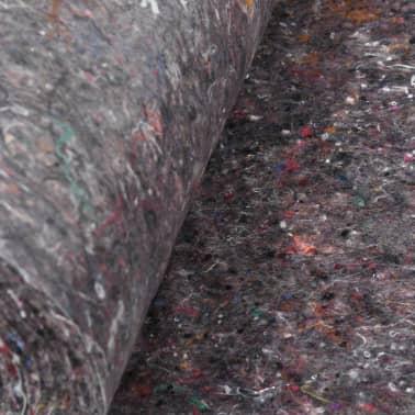 vidaXL Fieltro antideslizante de pintor 50 m 180 g/m² gris 3 unidades[5/6]