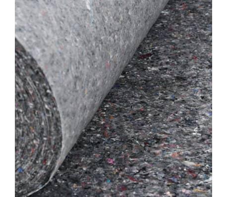 vidaXL Liukumaton maalarin fleece 50 m 280 g/m² harmaa[5/6]