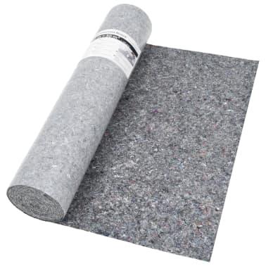 vidaXL Liukumaton maalarin fleece 50 m 280 g/m² harmaa[4/6]
