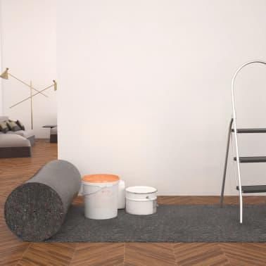 vidaXL Liukumaton maalarin fleece 50 m 280 g/m² harmaa[1/6]