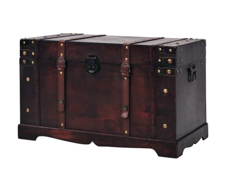 "vidaXL Vintage Treasure Chest Wood 26""x15""x15.7"""