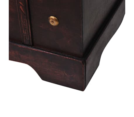 vidaXL Vintage Treasure Chest Wood 66x38x40 cm[7/9]