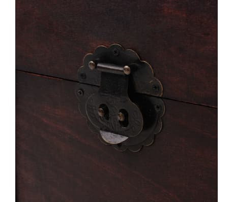 vidaXL Vintage Treasure Chest Wood 66x38x40 cm[8/9]