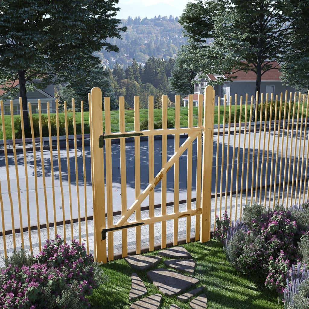 Zahradní branka, lískové dřevo, 100x150 cm